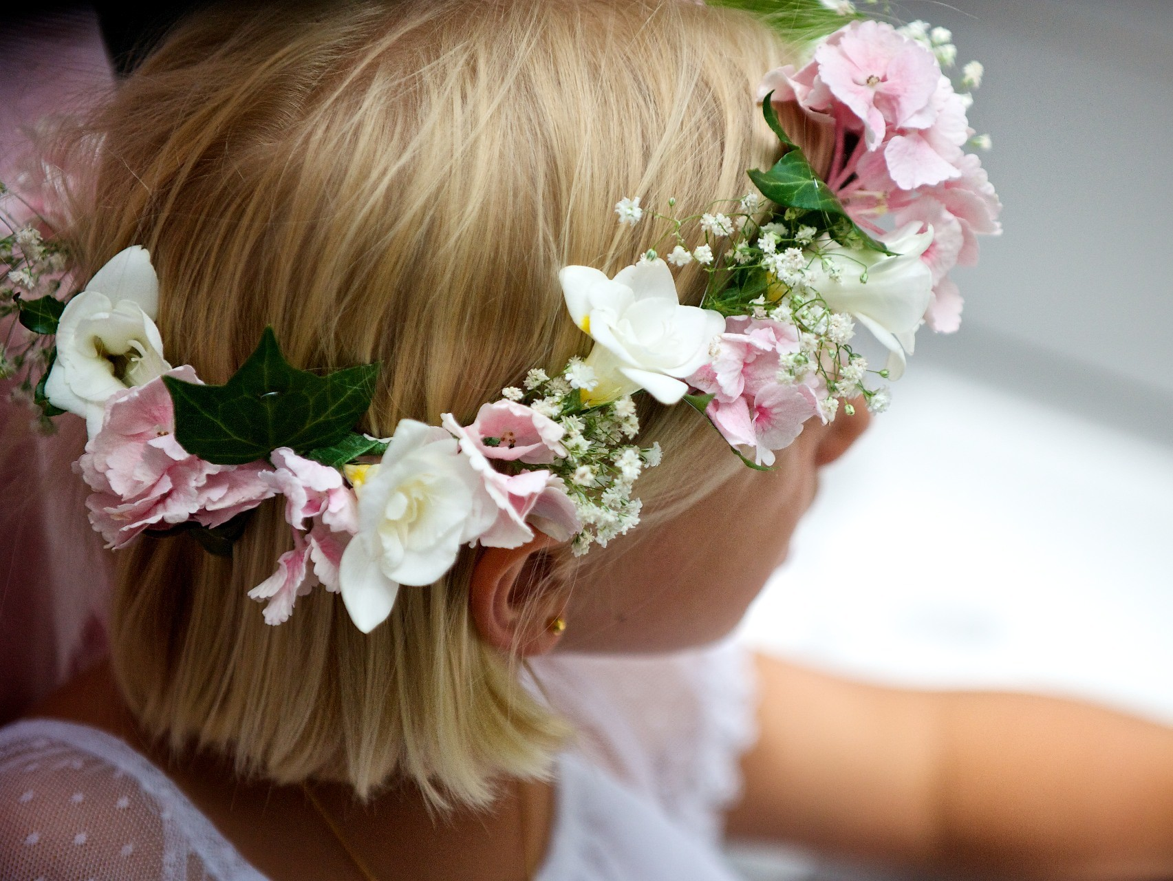 Flower Girl Ballymagarvey Village Wedding Meath