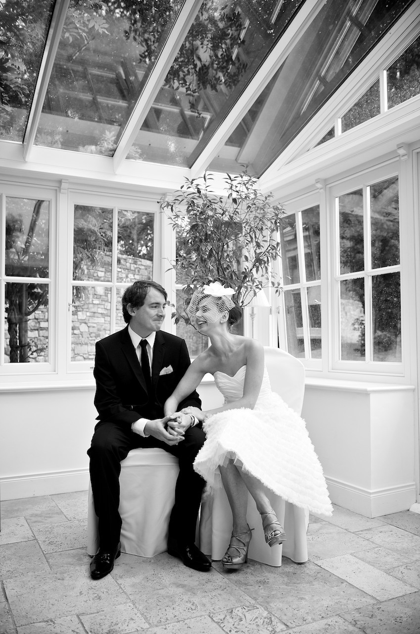 Bride and groom love  Ballymagarvey Village Wedding Meath