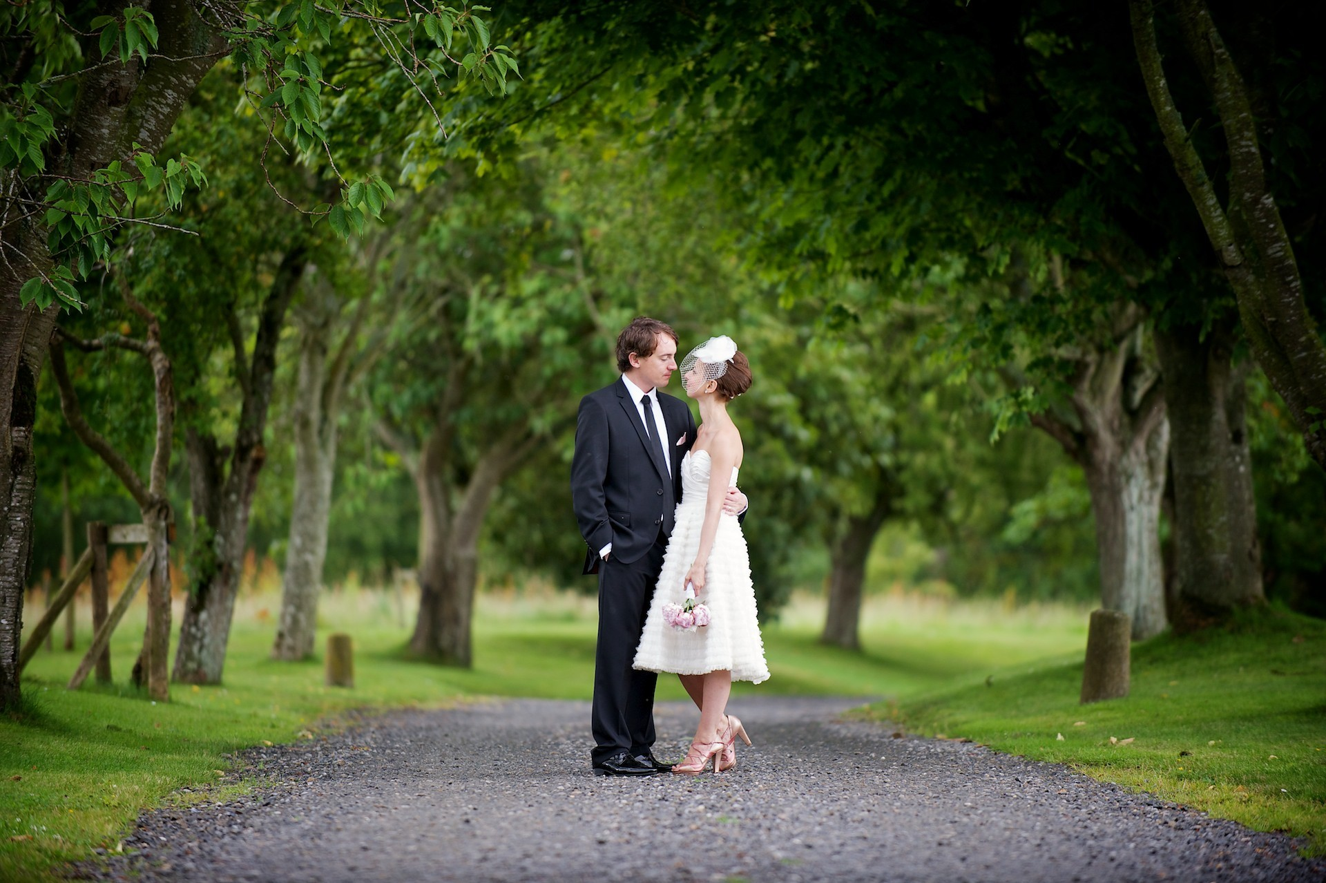 Driveway  Ballymagarvey Village Wedding Meath