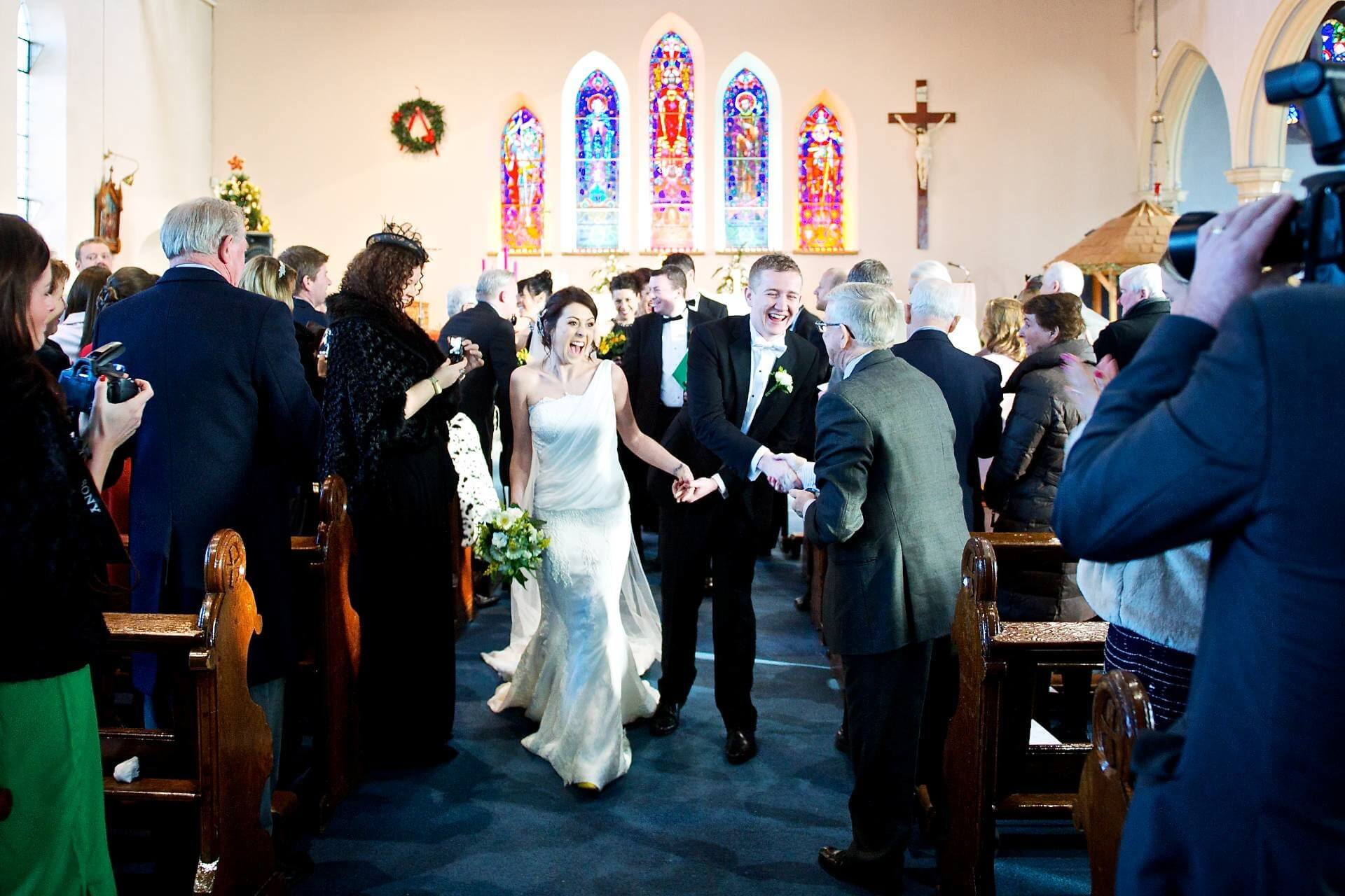 013 Wedding St Michaels Church Inchicore Recessional
