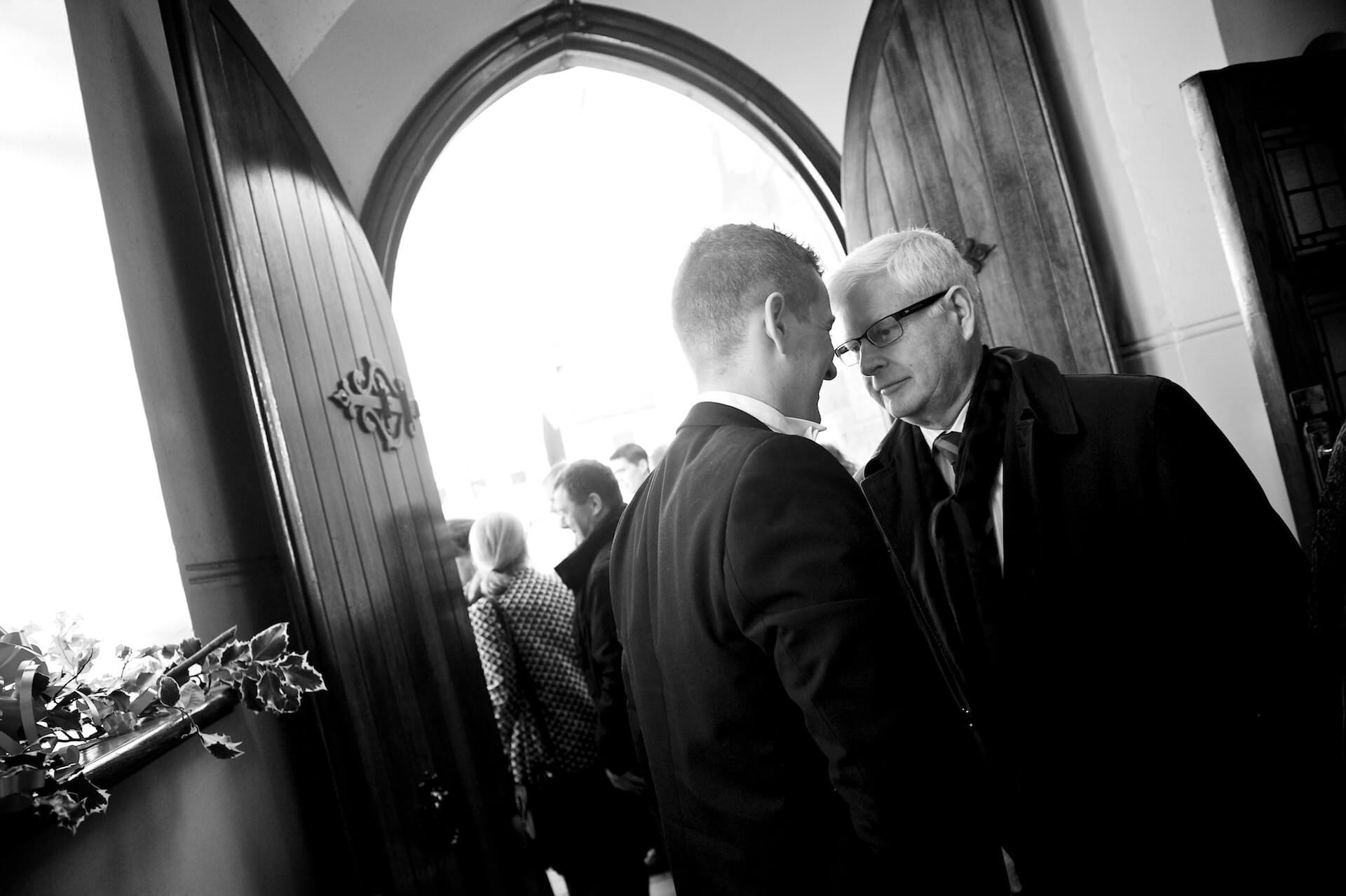 018 Wedding St Michaels Church Inchicore Greeting Guests