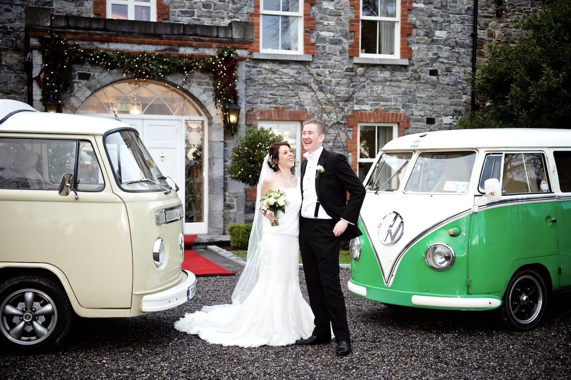 023 Wedding Meath Ballymagarvey Village Bride Groom Volkswagen