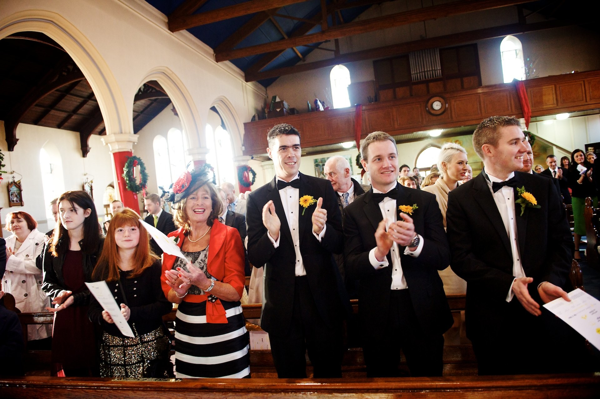 Ballymagarvey Village and St Michaels Inchicore - Winter Wedding 20