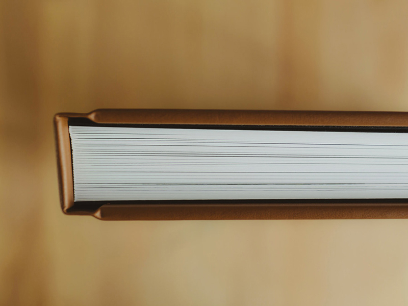 Fine Art Wedding Album Spine View