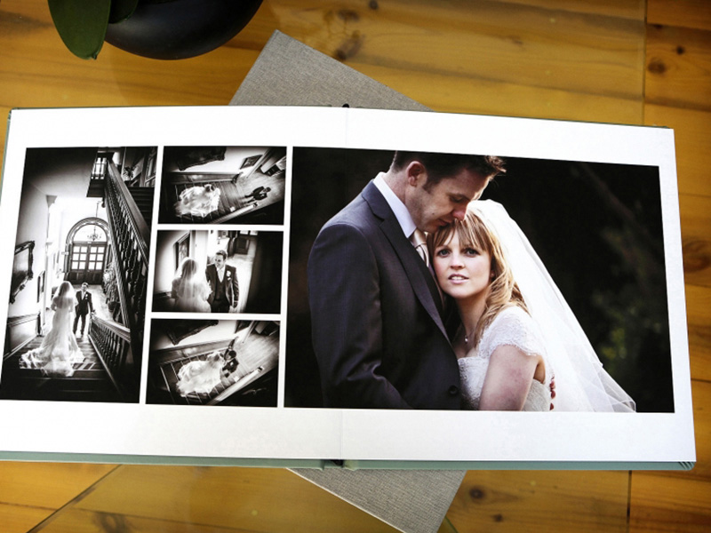 Fine Art Wedding Album Double Spread