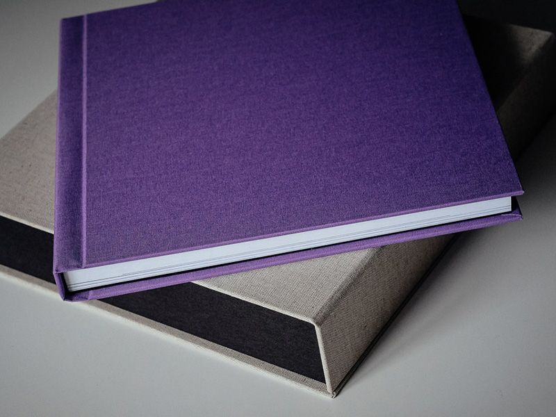 Fine Art Wedding Album and Box