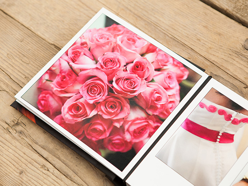 Storybook Wedding Album Pages
